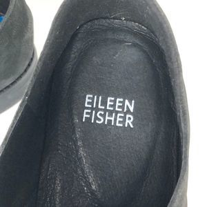 Eileen Fisher Shoes - Eileen Fisher Frida Leather Slip-On Oxford Size 10
